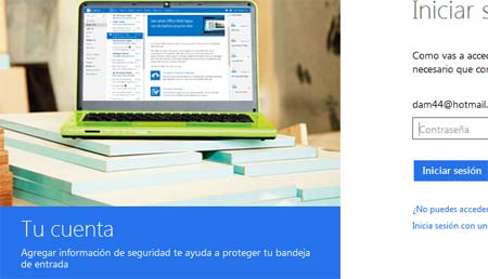dominio de correo outlook